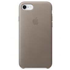 Apple leather case iphone 7 Taupe (темно-серый) купить Киев Украина - apple iphone 7 leather case