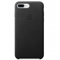 Кожаный чехол Apple Leather Case Black для iPhone 7 plus/iPhone 8 plus