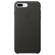 Apple leather case iPhone 7plus/8plus Charcoal Gray (угольно серый) купить Киев Украина - apple iphone 7plus leather case