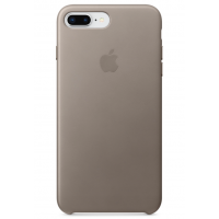 Кожаный чехол Apple Leather Case Taupe для iPhone 7 plus/iPhone 8 plus (копия)