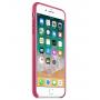 Кожаный чехол Apple Leather Case Pink Fuchsia для iPhone 7 Plus/iPhone 8 Plus (копия)