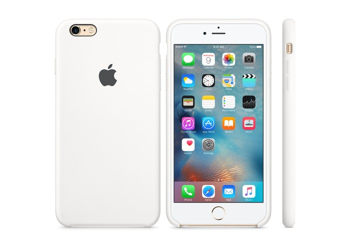 Силиконовый чехол Apple Silicon Case White для iPhone 6 Plus/6s Plus (копия)