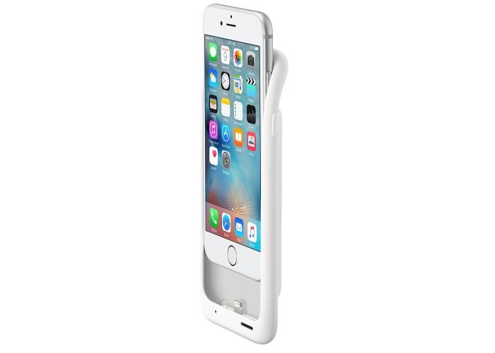 Силиконовый чехол iPhone 6 / 6s Smart Battery Case White (MGQM2)