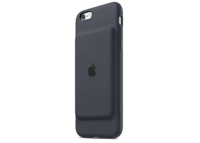 Силиконовый чехол iPhone 6 / 6s Smart Battery Case Black (MN012)