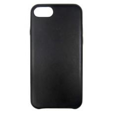 HandMade чехол из натуральной кожи для iPhone 7/8 с тиснение Apple черный