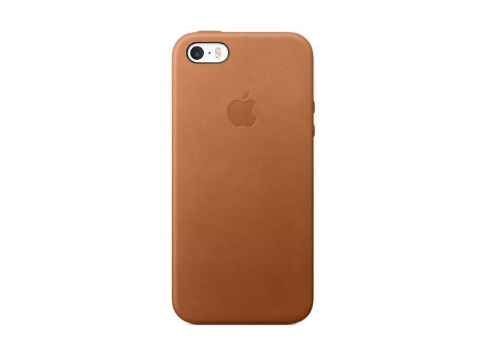 Чехол для iPhone 5/5s Apple Leather Case Saddle Brown (копия)