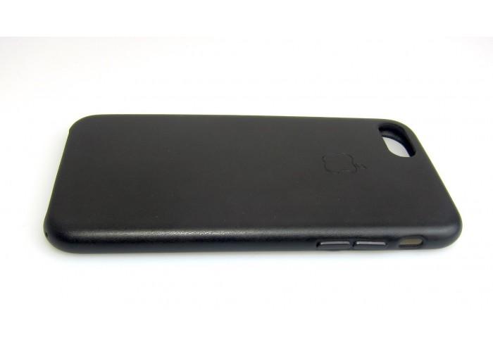 Люкс копия чехла Apple Leather Case Black для iPhone 7/8
