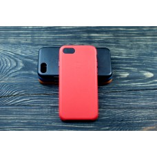 Люкс копия чехла Apple Leather Case Red для iPhone 7/8