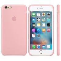 Силиконовый чехол Apple Silicone Case Pink для iPhone 6 plus/6s plus