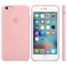 Apple Silicone Case Pink 6 plus/6s plus