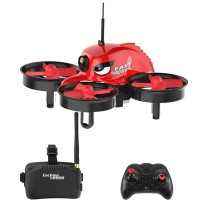 Мини квадрокоптер Eachine E013 с камерой и шлемом виртуальной реальности