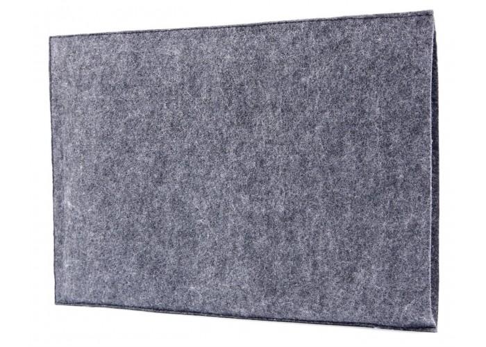 Фетровый чехол-конверт для Macbook  Air 13,3 и Pro 13,3 с экокожей (GM09)
