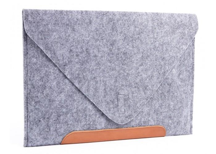 Фетровый чехол конверт для  Macbook Air 13,3 и Pro 13,3 (GM010)