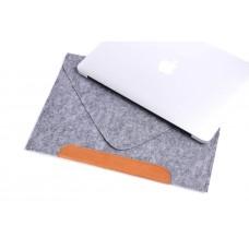 Фетровый чехол-конверт для  Macbook Air 13,3 и Pro 13,3 (GM010)