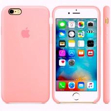 Силиконовый чехол Apple Silicone Case Light Pink для iPhone 6 Plus/6s Plus (копия)