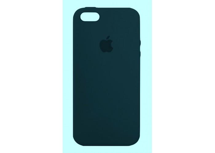 Силиконовый чехол Apple Silicone Case Night Blue для iPhone 5/5s/SE