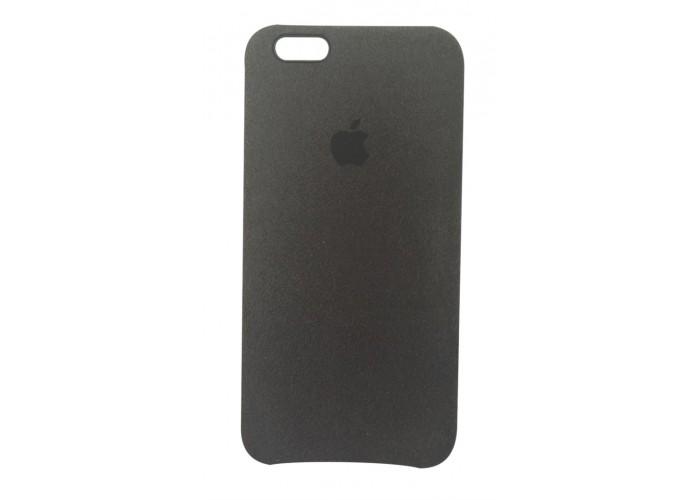 Премиум чехол Alcantara Cover Black (Черный) для iPhone 6