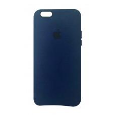 Премиум чехол Alcantara Cover Midnight Blue (Темно-синий) для iPhone 6