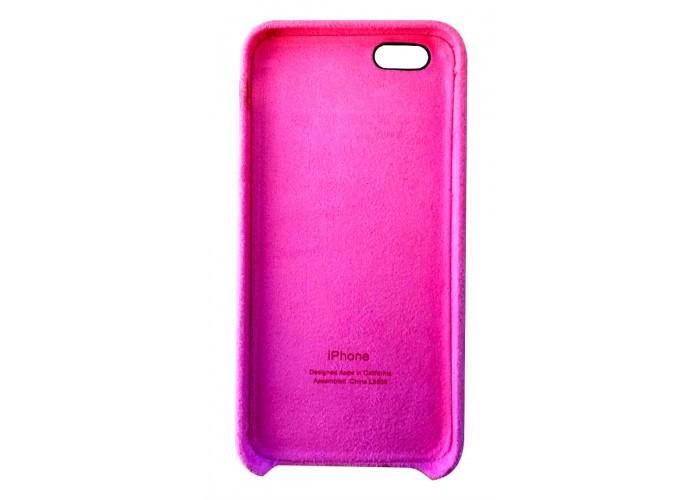 Премиум чехол Alcantara Cover Fuchsia (Розовый) для iPhone 6