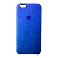 Премиум чехол Alcantara Cover Blue (Синий) для iPhone 6