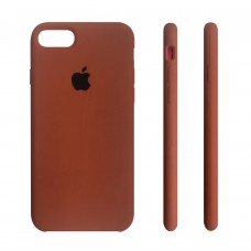 Apple Silicone Case Brown iPhone 7/8 купить Киев Украина - apple iPhone 7 silicon case
