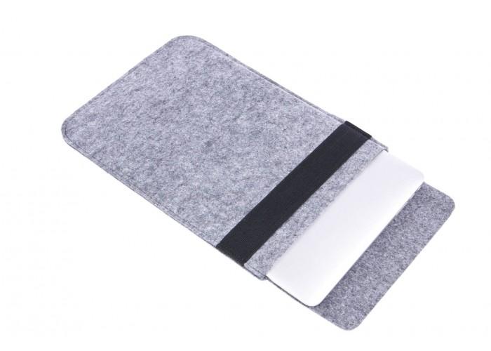 Светлый войлочный чехол-конверт для  Macbook Air 13,3 и Pro 13,3 (GM16)