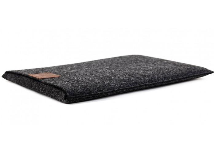 Чехол-конверт для Macbook Air 13,3 и Pro 13,3 темно серый (GM17)