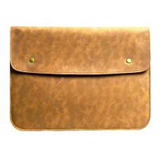Светло-коричневый винтажный чехол-конверт  для Macbook Air 13,3 и Pro 13,3 (GM48)