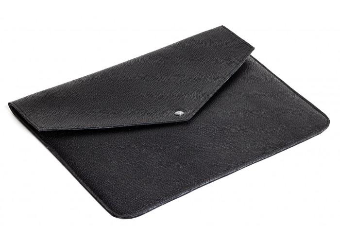 Черный чехол-конверт на одной кнопке для Macbook Air 13,3 и Pro 13,3 (GM54)
