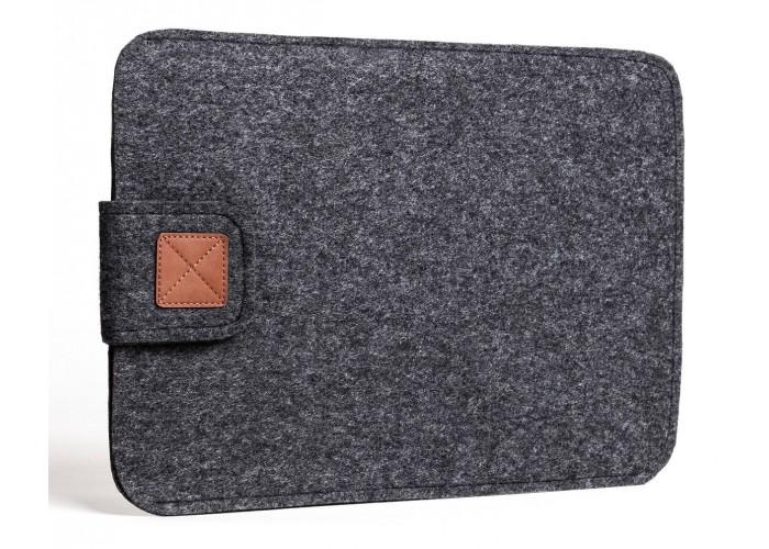 Темный чехол на застежке для Macbook Air 13,3 и Pro 13,3 (GM56)