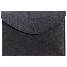 Темный войлочный чехол-конверт для  Macbook Air 13,3 и Pro 13,3 (GM60)