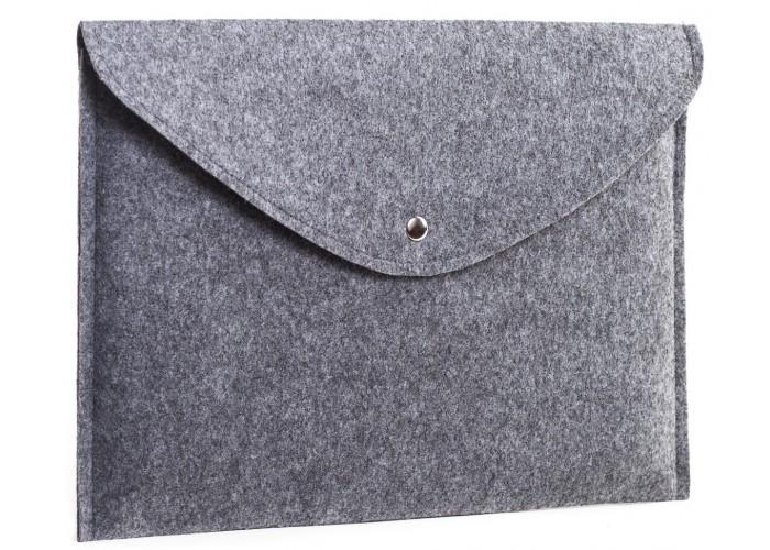Светлый войлочный чехол-конверт для  Macbook Air 13,3 и Pro 13,3 (GM61)