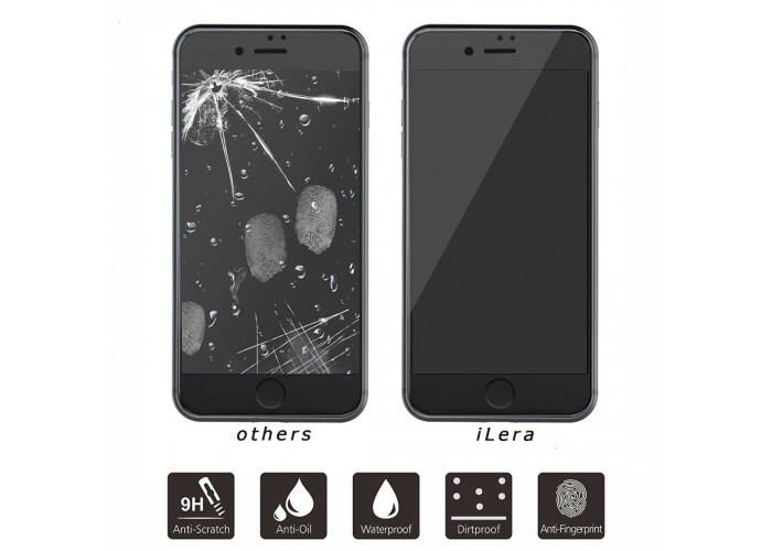 iLera Glass 2,5D для iPhone 7/8 White (Белое)