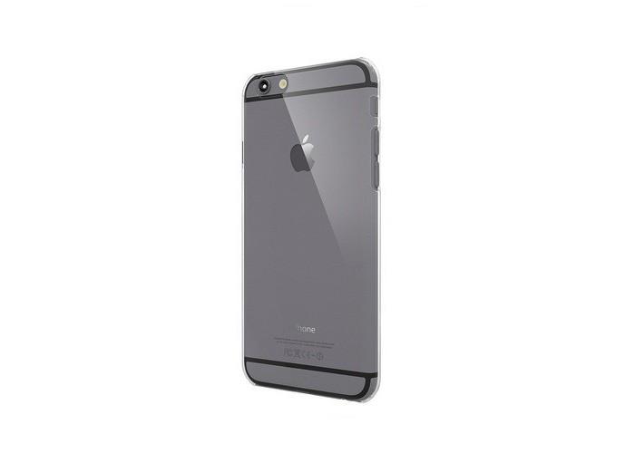Ультра прозрачный, тонкий чехол COLORANT С0 Hard Case Clear Black (прозрачно-черный) PatchWork для iPhone 6/6s