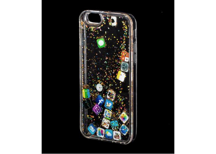 Силиконовый чехол для iPhone 6/6s Pepper Shining Widget