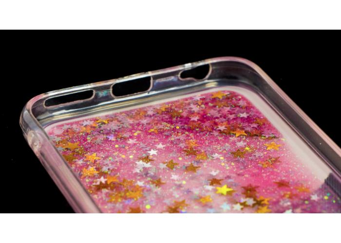 Силиконовый чехол для iPhone 6/6s Pepper Shining Stars с принтом цыпленка посередине