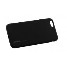 Силиконовый чехол для iPhone 6/6s SMTT черный