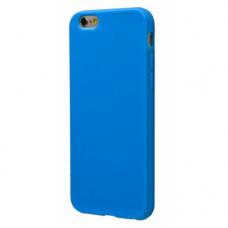 Силиконовый чехол для iPhone 6/6s глянцевый синий