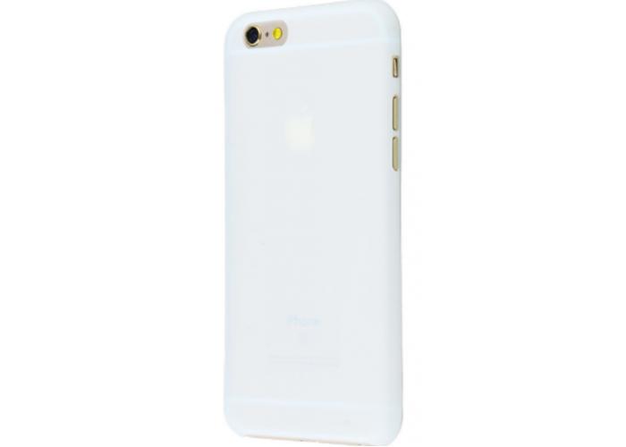 Чехол для iPhone 6/6s soft touch (XINBO) белый