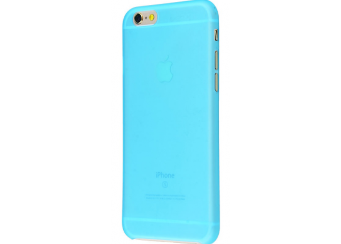 Чехол для iPhone 6/6s soft touch (XINBO) голубой