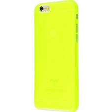 Чехол для iPhone 6/6s soft touch (XINBO) салатовый