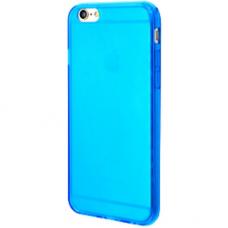 Силиконовый чехол для iPhone 6/6s глянцевый бирюзовый