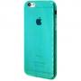 Силиконовый чехол для iPhone 6/6s глянцевый зеленый
