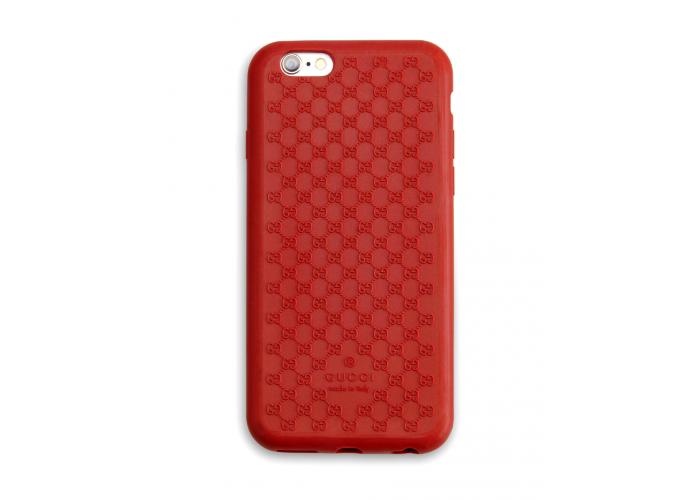Чехол для iPhone 6/6s Gucci Basic (TPU) красный