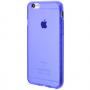 Силиконовый чехол для iPhone 6/6s глянцевый сиреневый