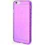 Силиконовый чехол для iPhone 6/6s глянцевый фиолетовый