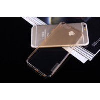 TPU чехол Nillkin Nature Series для iPhone 6/6s золотой (прозрачный)