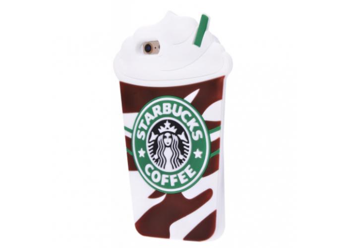 Чехол для iPhone 6/6s Starbuks коричневый