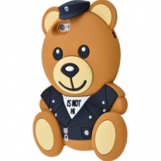 Чехол для iPhone 6/6s Moschino мишка Police