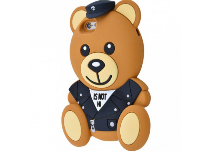 Чехол для iPhone 6/6s Moschino мишка Police